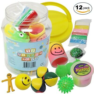 12PCS Sensory Toys Fun Fidget Stress Special Needs Autism ADHD SEN Kids Children • 13.99£