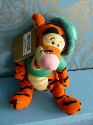 A Rare Disney Store St Patricks Day Tigger 9  Beanie Plush With Tags From 2001 • 12.99£