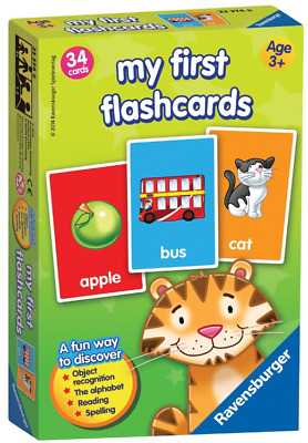 Baby Gift First FlashCard Ravensburger Learning Game Book For Kid,Toddler &Child • 8.98£