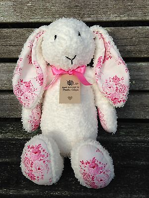 Hand Knitted Blossom Bunny • 30£