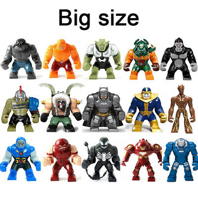 Marvel Dc Comics BIG Superhero Thanos Venom Hulk Custom Mini Figures Fit Lego UK • 6.45£