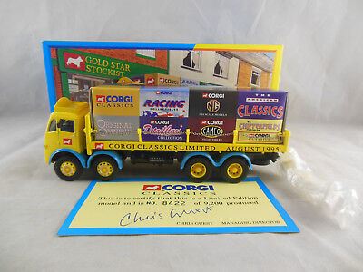 Corgi Classics 09802 ERF 8 Wheel Rigid With Load And Unpainted Figures  • 18.50£