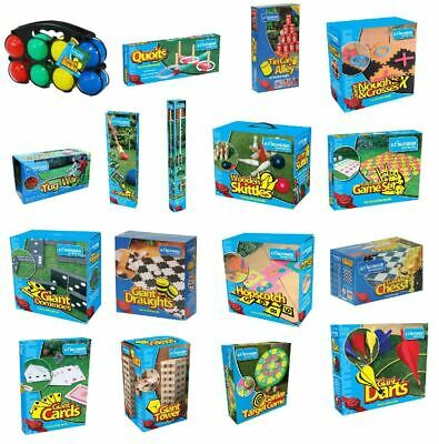 New Traditional Giant Garden Games Outdoor Summer Beach Fun Family Sports BBQ  • 13.99£