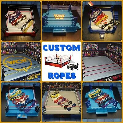 Replacement Ropes For WWE Wrestling Figure Rings Retro ASR Hasbro Mattel *Read* • 7£