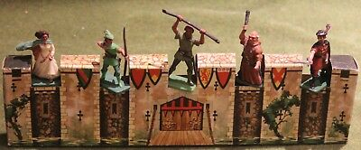 Crescent - Knights / Robin Hood Range, 1960's Issue Plastic Soldiers Rare Timpo • 175£