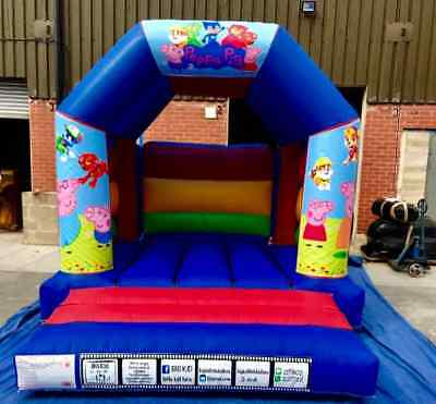 NEW  11ft X 12ft  Bouncy Castle Made To Order  • 750£