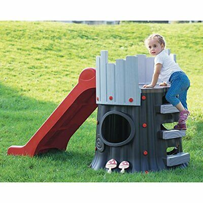 Treehouse Slide Playhouse Garden Toy Play Tower Childrens Activity Centre Den • 99.95£
