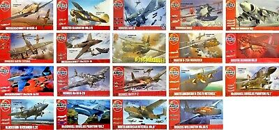 Airfix 1/72 Aircraft Military Planes New Plastic Model Kit 1 72 • 12.95£