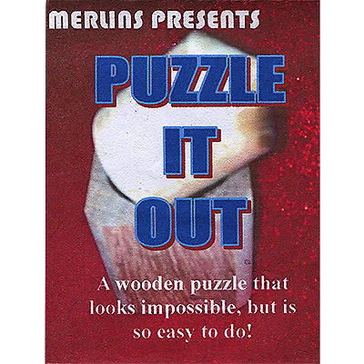 Puzzle It Out By Merlins Magic - Trick • 15.12£