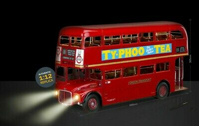 LONDON BUS CLASSIC ROUTEMASTER RED BUILD YOUR OWN HACHETTE 1:12 - Select Issue • 12.99£