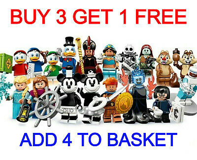 LEGO 71024 DISNEY MINIFIGURES SERIES 2 (Pick Your Minifigure) Buy 3 Get 1 Free!! • 14.95£