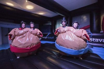 Twin Wrestling Sumo Suits By Supersumo Ltd • 550£