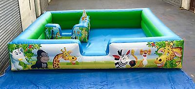 SOFT PLAY INFLATABLE  Activity Soft Surround - With Ball Pond /Jugglerswe Away   • 495£