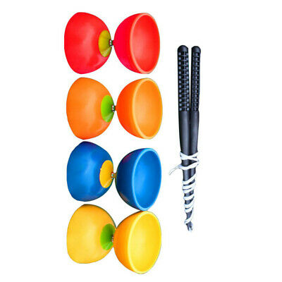 Beginner Diabolo Circus Skill With Wooden Sticks Lots Of Colours *FAST UK POST* • 7.49£