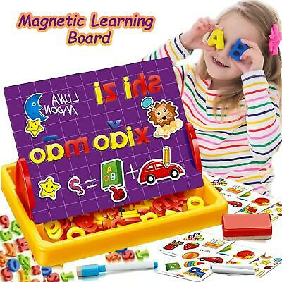 Magnetic Letters Numbers Alphabet Fridge Magnets ABC 123 Educational Toy • 7.99£