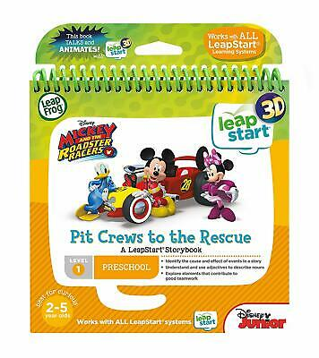 LeapFrog LeapStart Nursery Book: Pit Crews To The Rescue 3D **BRAND NEW** • 12.99£