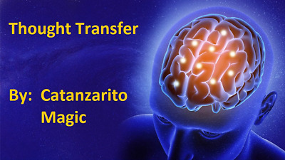 Thought Transfer By Catanzarito Magic - Trick • 10.41£
