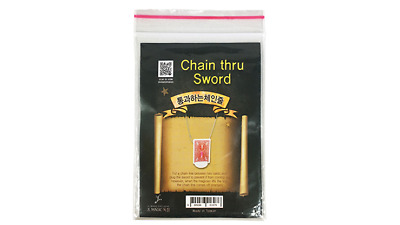 Chain Thru Sword By JL Magic - Trick • 12.77£