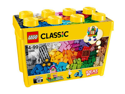 10698 LEGO Large Creative Brick Box Classic Age 4 Years+ With 790 Pieces • 39.99£