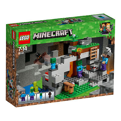 21141 LEGO Minecraft The Zombie Cave 241 Pieces Age 7 Years+ • 23.99£