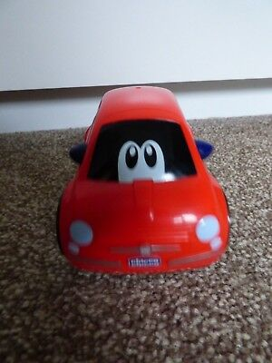 Chicco Toy Moving/Sounds Red Fiat 500 Car • 5.99£