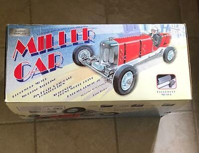 Tether Car Classic Tinplate Miller Racer Car Large Wind Up Toy  • 850£