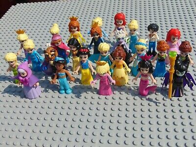 Disney Princess Mini Figures Frozen,Ursula,Maleficent, Aurora,Belle Jasmine Elsa • 2.99£