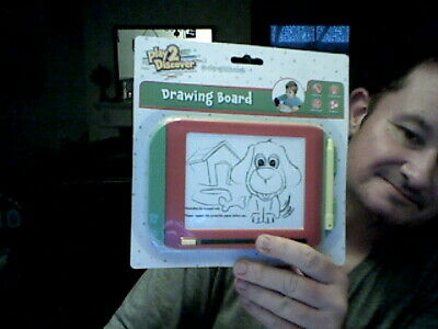 Play 2 Discover Etch A Sketch Variant Toy Home Play Toy Drawing Art • 4£