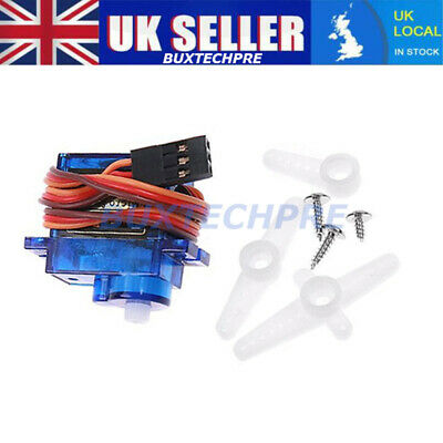 10pcs Micro Servo Motor SG90 9G RC Robot Arm Helicopter Airplane Remote Control • 19.24£