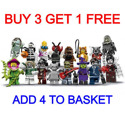 LEGO 71010 SERIES 14 MINIFIGURES (Pick Your Minifigure) Buy 3 Get 1 Free!! • 6.95£