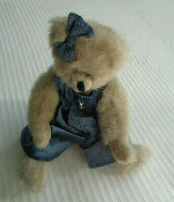 TY Handmade Teddy Bear Vintage Old Soft Toy 11  • 24.99£