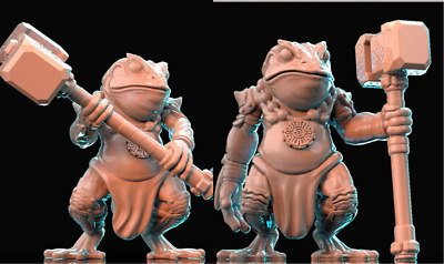 28mm  Warrior Toad Bullywog D&D Bestiary Multi Listing • 4.80£