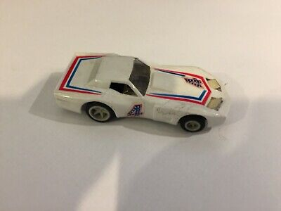 Matchbox Powertrack Plus, Speedtrack, Slot Car Supervette N .4 Rare • 29.99£