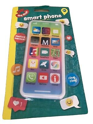 Kids Toy Mobile Phone Educational Learning IPhone Musical Sound Light Sparkle • 3.29£