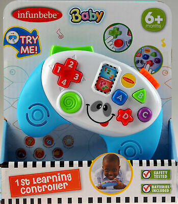 Baby My First Learning Game Controller Toy - 6 Months+ • 11.99£