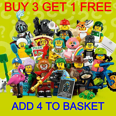 LEGO 71025 SERIES 19 MINIFIGURES (Pick Your Minifigure) Buy 3 Get 1 Free!! • 83.95£