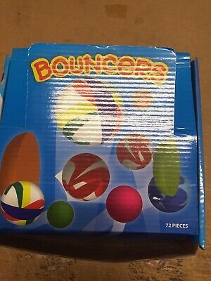 Rubber Bouncing Balls Box Of 72 • 13£