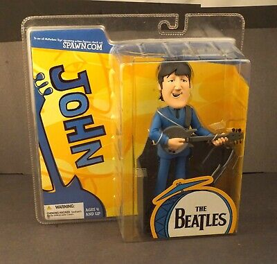 Mc Farlane Toys John The Beatles Figure Mint In Pack Sealed  #fig1 • 36.81£
