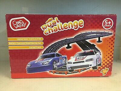 Rare Vintage Chad Valley Dual Challenge Slot Car Racing Set • 29.99£