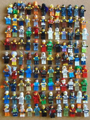 Lego Minifigures 10 X Random Lego Mini Figures + Accessories StarWars Etc Bundle • 15.99£