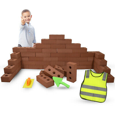 EVA Building Foam Bricks Kids Educational Indoor Fun Creative Construction Block • 54.99£