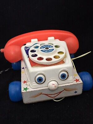Vintage Fisher Price Phone Telephone Car 1961 • 9.99£
