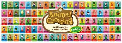Animal Crossing Amiibo Series 2 Cards - All Cards 101 > 200 Nintendo 3ds & Wii U • 9.50£