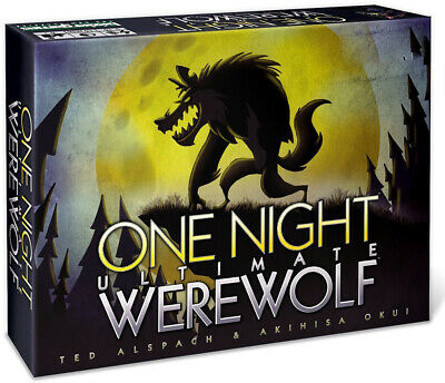 One Night Ultimate Werewolf - Board Game & Sealed Gifts Toys • 9.69£