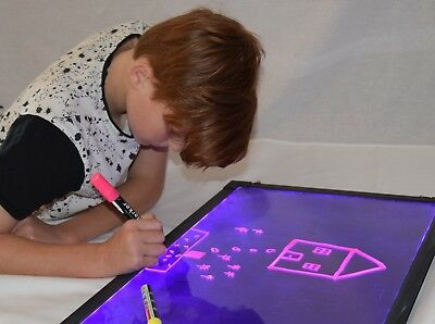 Sensory LED Board, Light Up,drawing,toy,special Needs,autism, ASD,ADHD • 34.99£