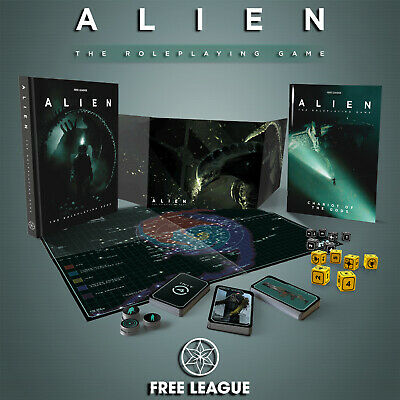 Alien RPG Table Top Role Playing Game New UK Free League Board Game Official • 19.99£