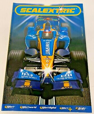 OBSOLETE SCALEXTRIC CATALOGUE UPDATE 2006 47th EDITION. • 7.95£