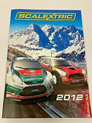 OBSOLETE SCALEXTRIC CATALOGUE 2012 53rd EDITION. EXCELLENT. • 4.95£