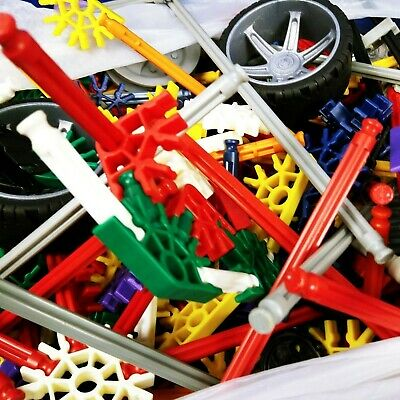 Large Knex Bundle With Carry Case And Instructions Pieces Parts Rods Wheels Ect • 22.50£