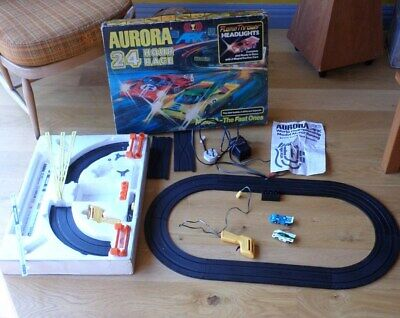 Aurora AFX 24 Hour Race GX1750 Vintage Slot Car Racing Set SEE DESC Inc UK P+P • 39.99£